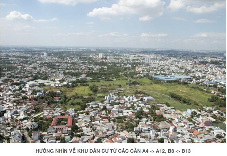 Dự án Lavita Garden nhìn về trung tâm thành phố