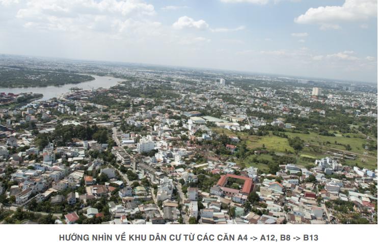 Lavita Garden nhìn về sông Sài Gòn