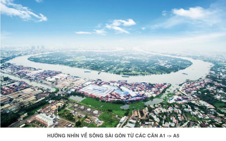 Dự án Lavita Garden nhìn về sông Sài Gòn