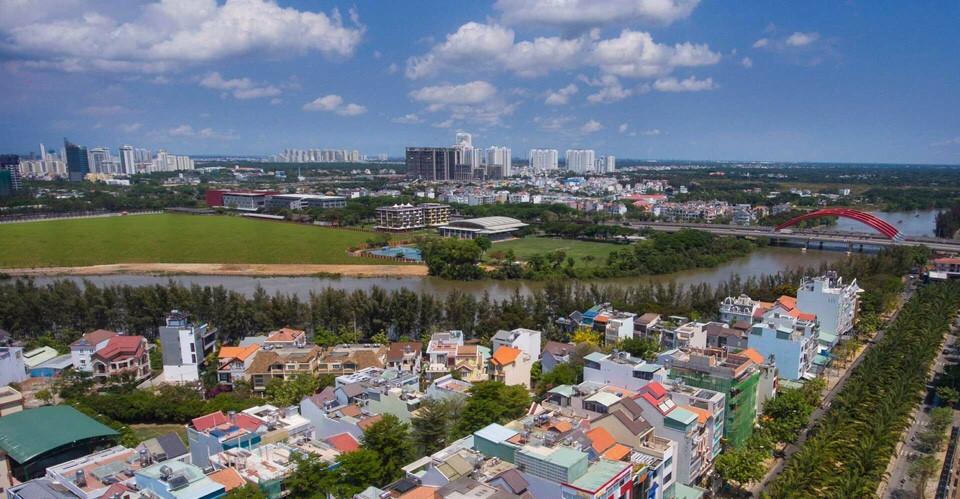 Hướng View về Nguyễn Văn Linh
