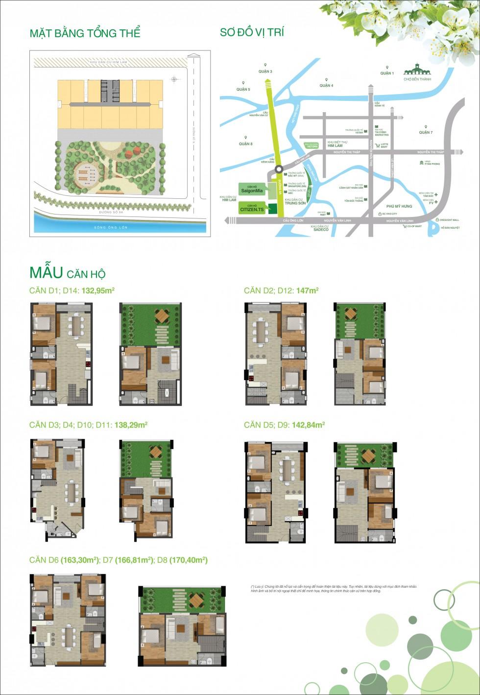 Mẫu thiết kế căn hộ Citizen.ts