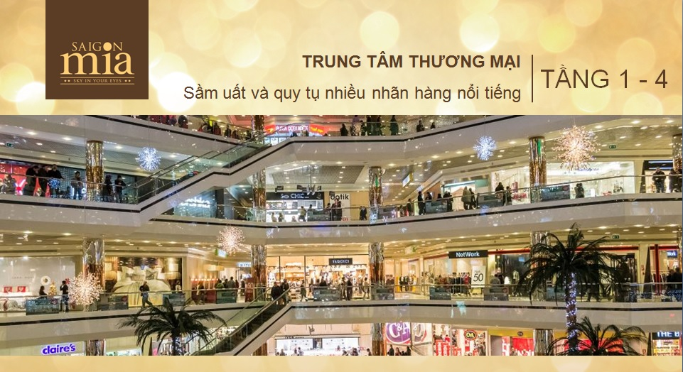Trung tâm thương mại tại Sai Gon Mia