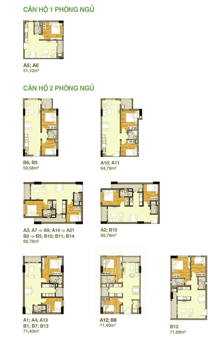 Mẫu thiết kế căn hộ Lavita Garden