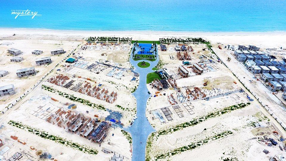 Tiến độ thi công Cam Ranh Mystery Villas 1
