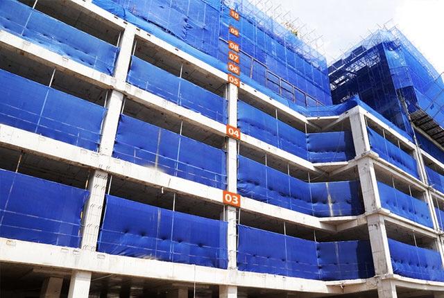 Tiến độ thi công Block C dự án Saigon Mia