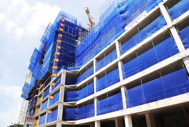 Tiến độ thi công Block S dự án Saigon Mia