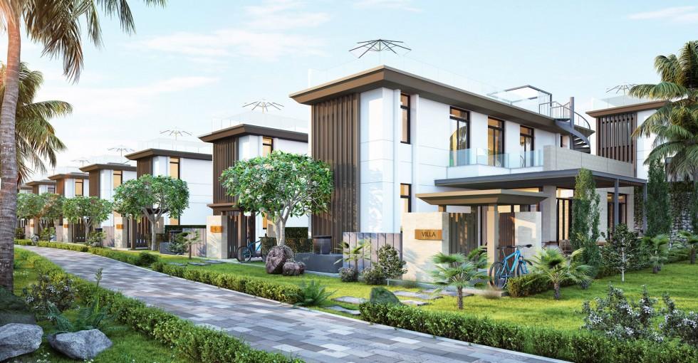 Biệt thự mẫu 240m2 Cam Ranh Mystery Villas