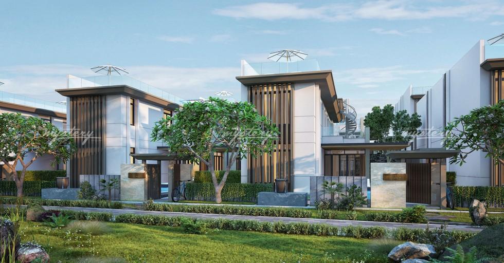 Biệt thự mẫu 300m2 Cam Ranh Mystery Villas