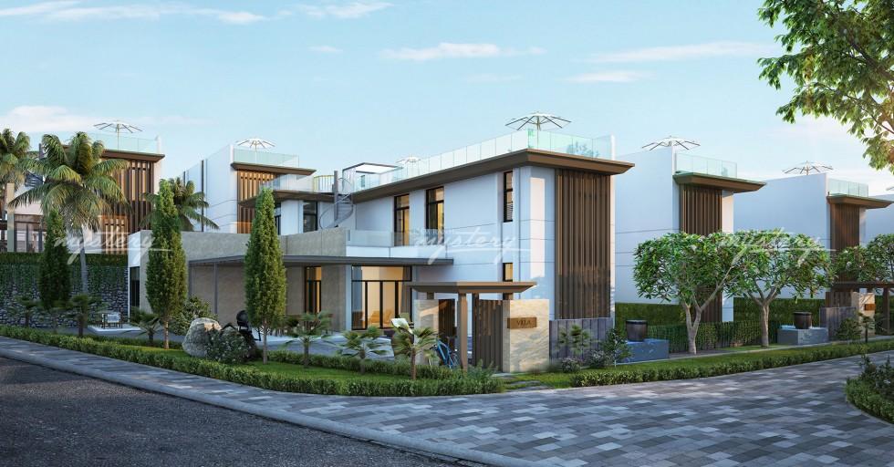 Biệt thự mẫu 360m2 Cam Ranh Mystery Villas