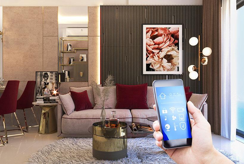 Căn hộ smart home