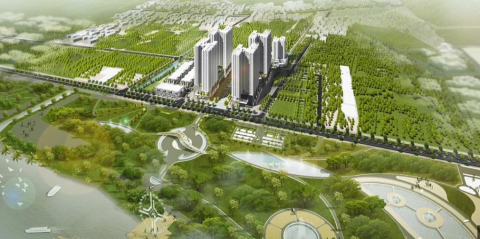 Phối cảnh dự án Grand Nest City Quận 7