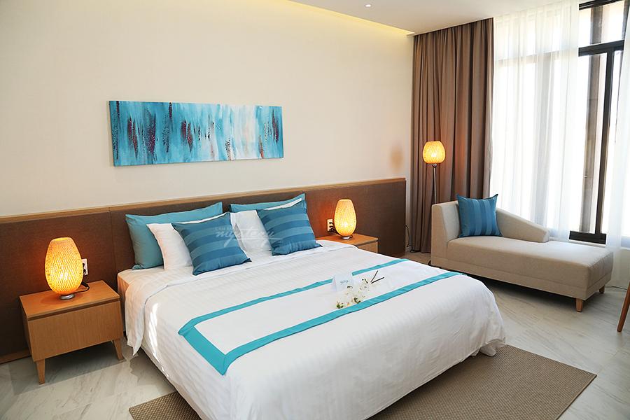 Phòng ngủ Cam Ranh Mystery Villas