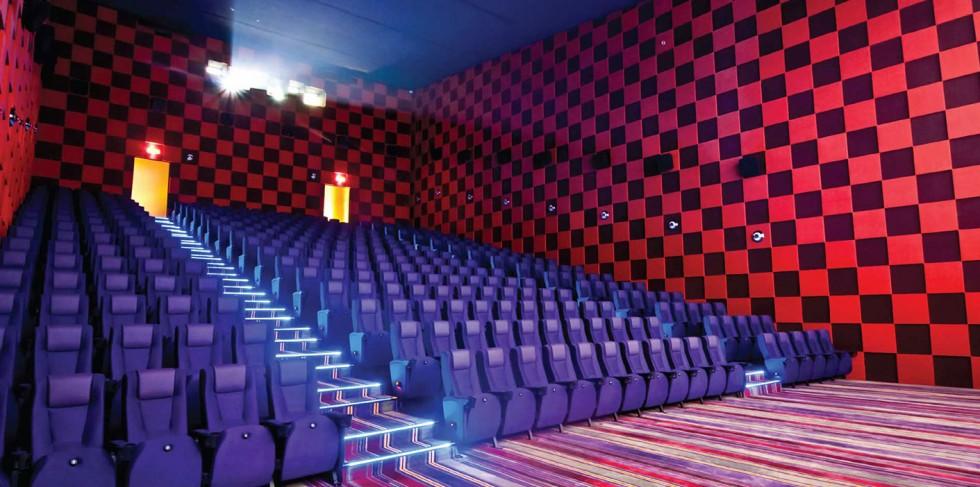 Tiện ích Nội khu - Rạp chiếu phim tại tầng 4