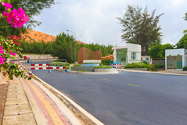 Hình ảnh thực tế tại dự án Sentosa Villa 4