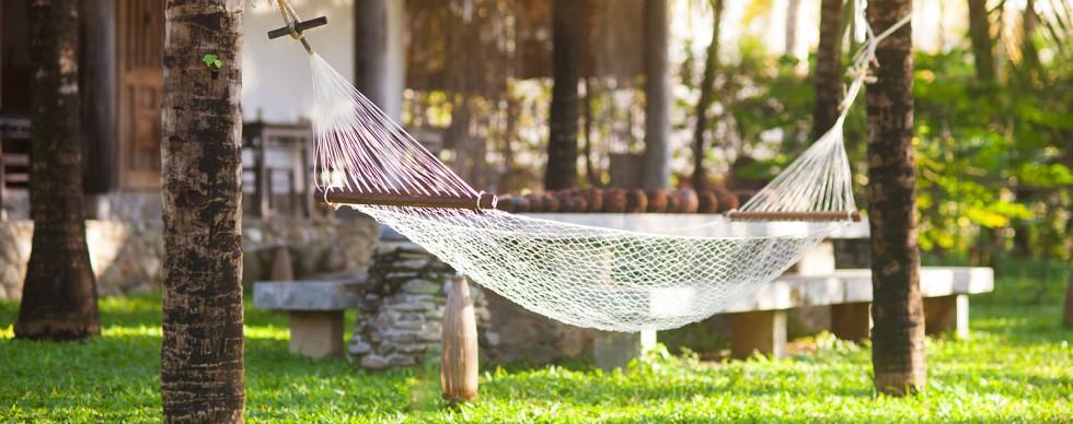 Công viên thư giãn tại Sentosa Villa