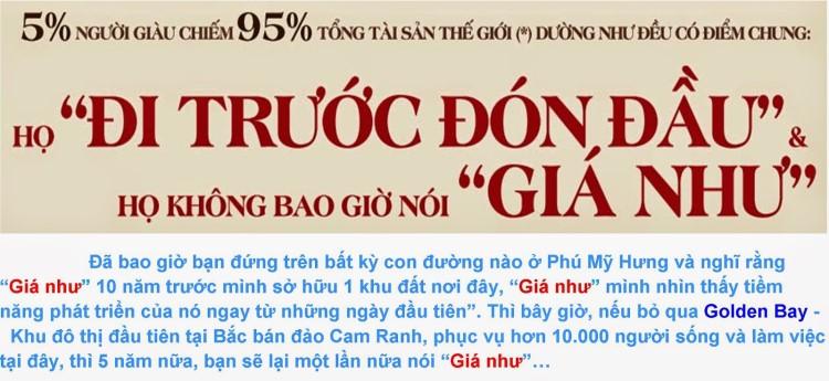 Cơ hội An cư & đầu tư tại dự án Golden Bay Cam Ranh