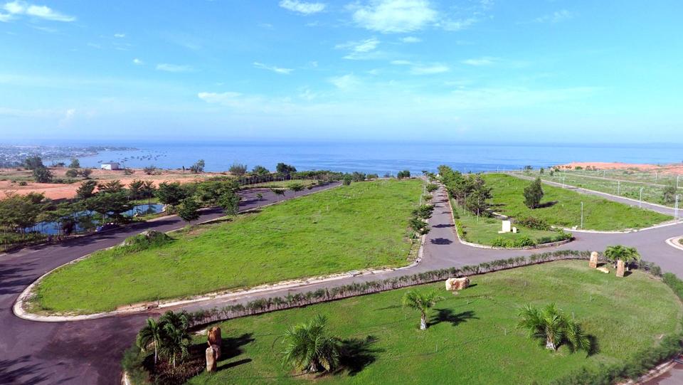 Hình ảnh thực tế tại dự án Sentosa Villa 3
