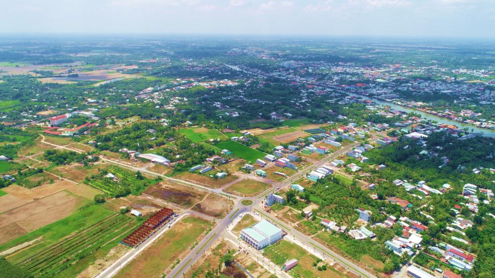 Hình ảnh thực tế Dự án Vĩnh Long New Town 1