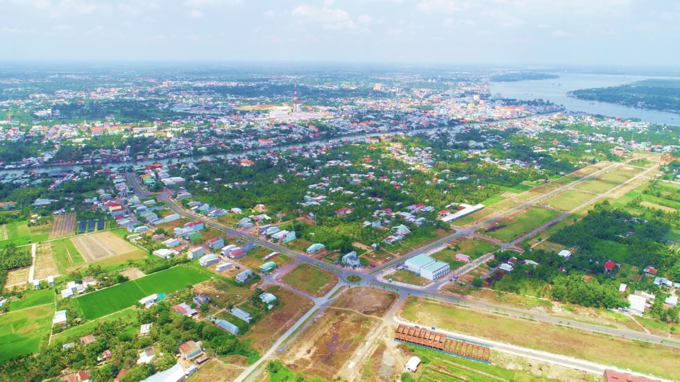 Hình ảnh thực tế Dự án Vĩnh Long New Town 2