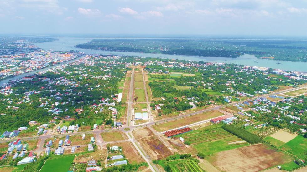 Hình ảnh thực tế Dự án Vĩnh Long New Town
