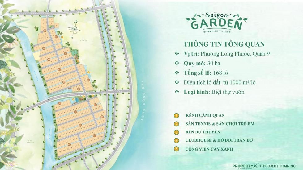 Mặt bằng Saigon Garden Riverside Village