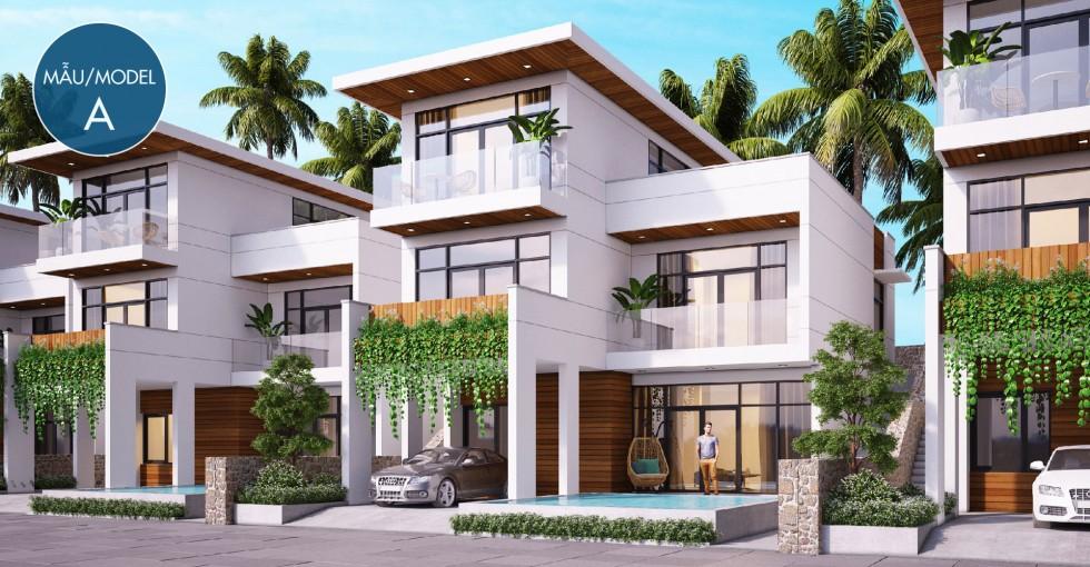 Mẫu biệt thự A dự án Sentosa Villa