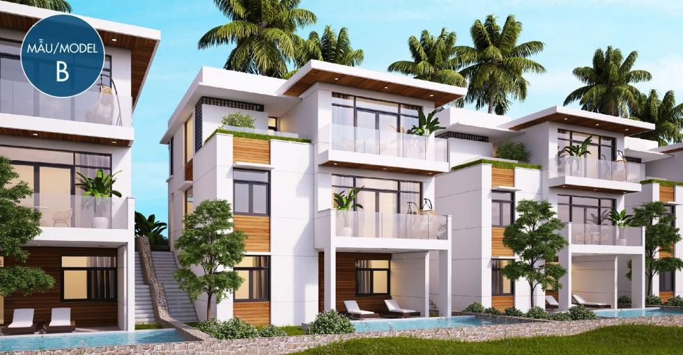 Mẫu biệt thự B dự án Sentosa Villa