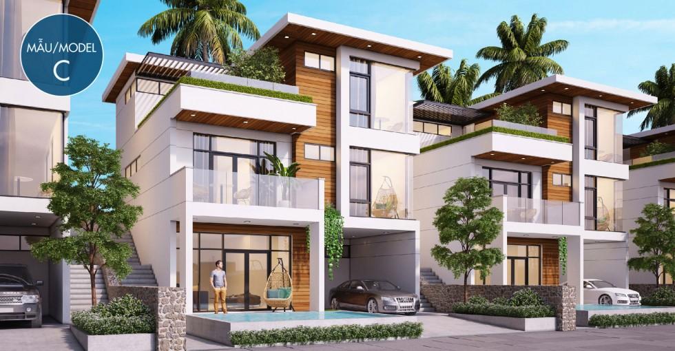 Mẫu biệt thự C dự án Sentosa Villa