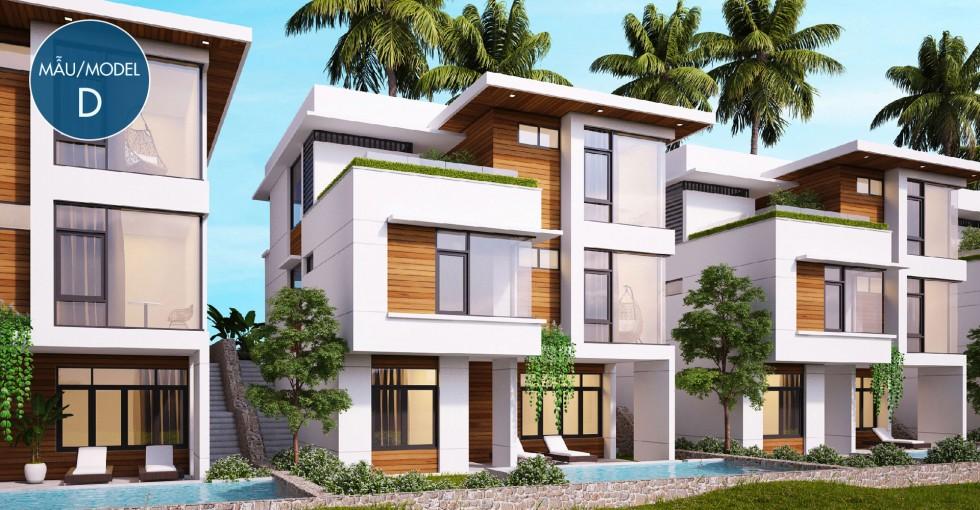 Mẫu biệt thự D dự án Sentosa Villa