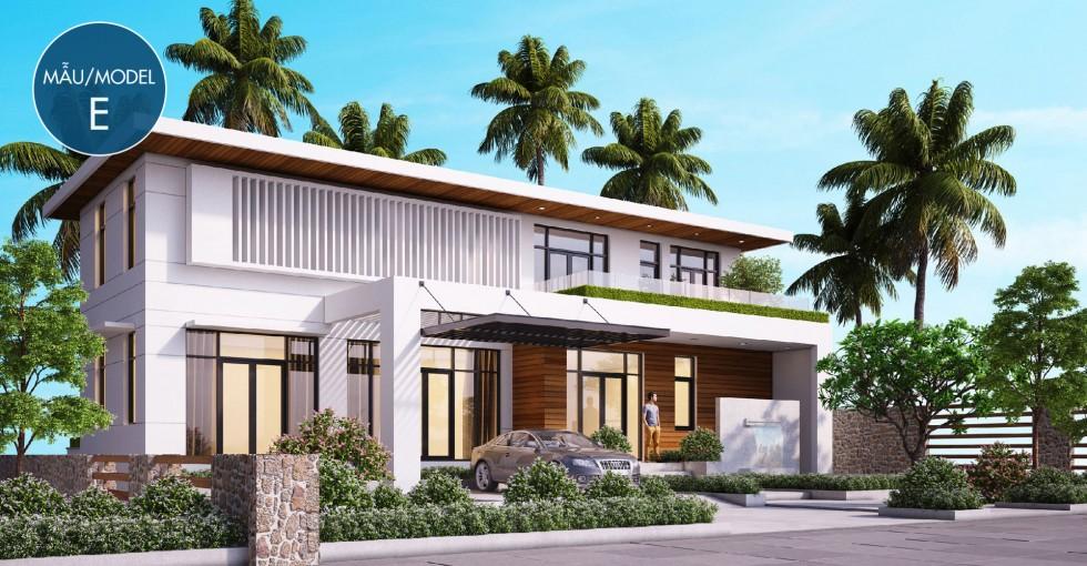 Mẫu biệt thự E dự án Sentosa Villa