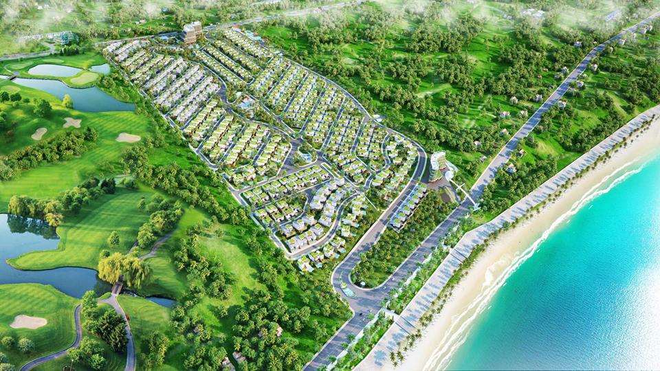 Phối cảnh dự án Sentosa Villa